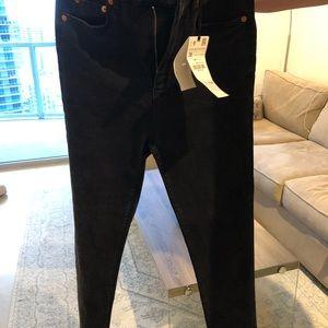 High waist black ZARA jeans size 36 or US 4